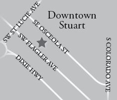 Stewart Florida Map.The Gafford Southern Steak Seafood
