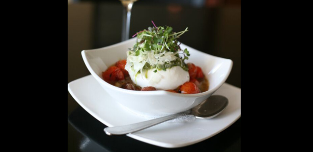 Image of burratta appetizer